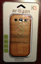 NEW Real Wood Case/Cover For Straight Talk Samsung Galaxy S3 Mobile Cell Phone