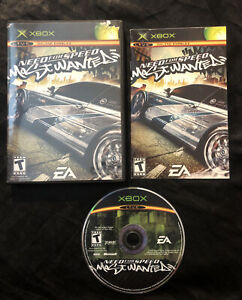 Need for Speed Most Wanted — Complete! Fast Shipping! (Microsoft Xbox, 2005) NFS
