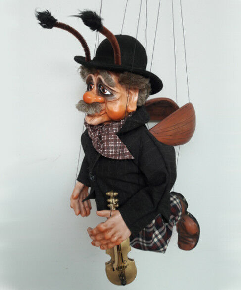 BEETLE GRANDPA - original marionette,18 inches tall,handmade from CZECH REPUBLIC REPUBLIC REPUBLIC aa548e