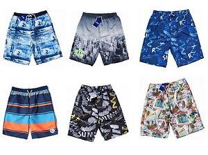 1ee27e3b7f Quality Boys Mens Long Board Knee Length Swim Shorts Swim Trunks 9 ...
