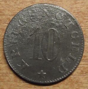 Germany-Notgeld-Token-Luetzen-10-pfennig-1919