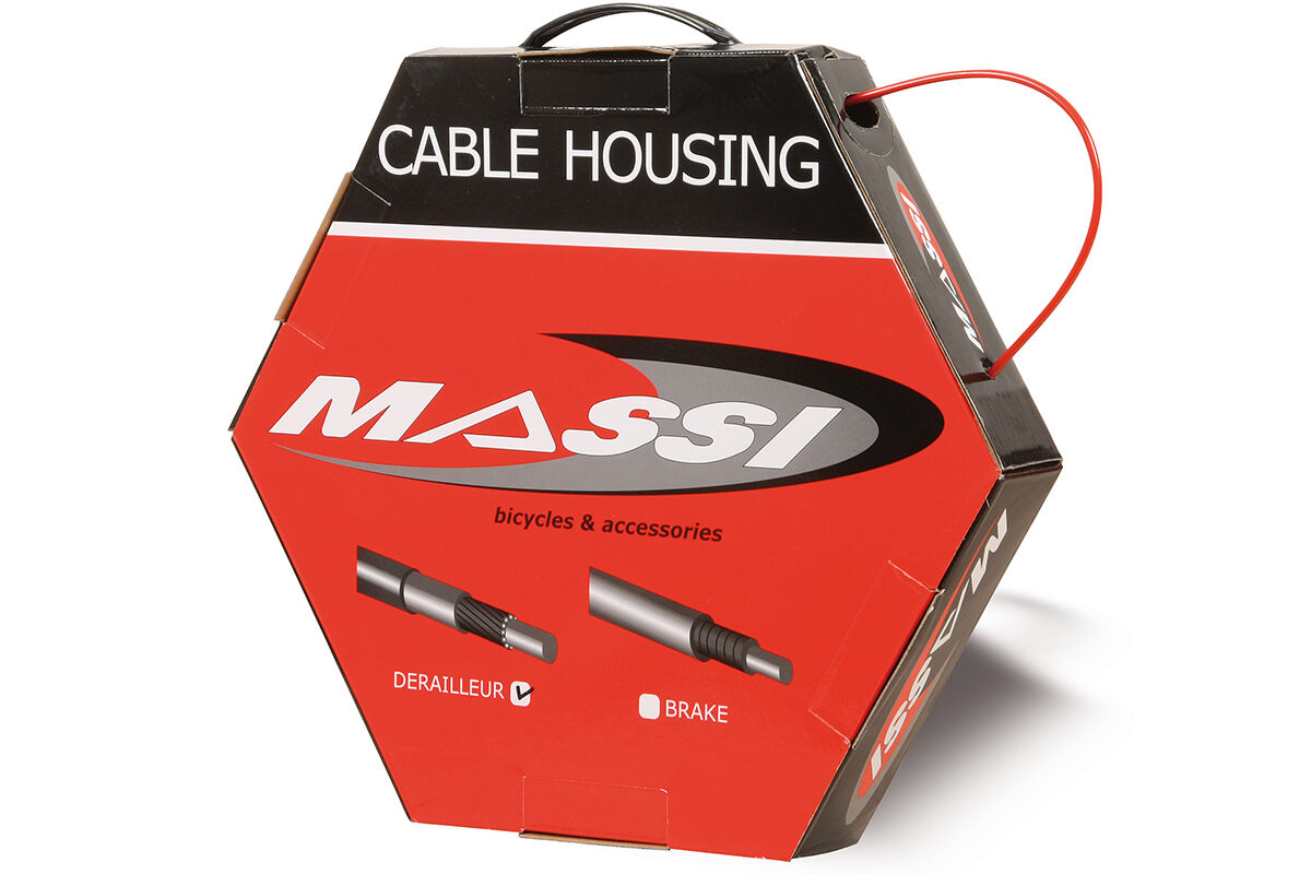 MASSI Funda cable sirga sirga cambio bicicleta Caja 30m