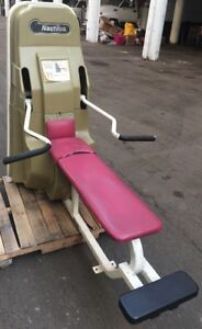 nautilus bench press commercial/public gym or home gym use