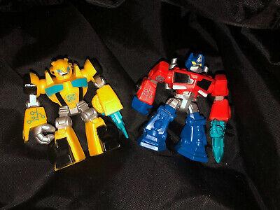 Hasbro Transformers Playskool Rescue Bots Bumblebee/'s Garage playset HTF