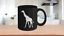 miniature 1 - Giraffe Mug Black Coffee Cup Gift for Animal Lover African Safari Zoo Expedition