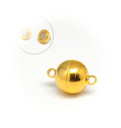 Noble 20x12 mm Bijoux Bricolage//270 1 Fermeture magnétique en acier inoxydable Golden Poli!!