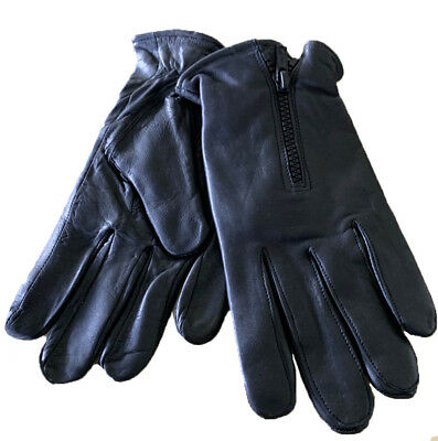 Men/'s genuine soft lamb skin quality driving gloves with knuckle holes # 110