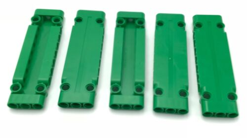 Lego 5 New Green Technic Panels Plates 3 x 11 x 1 Pieces