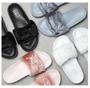 save off 9c5a4 120ee Details about Women Slides Puma Fenty by Rihanna Latest 2018 Fashion Style  Multicolor