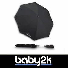 Jane Universal Anti UVA UV Sun Parasol Umbrella Summer Cover Black Noir BN