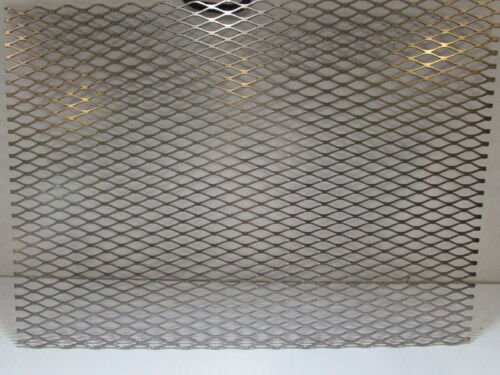"""304 STAINLESS STEEL FLATTENED EXPANDED METAL   32/"""" X 18/"""" 1//2/""""-#16"""
