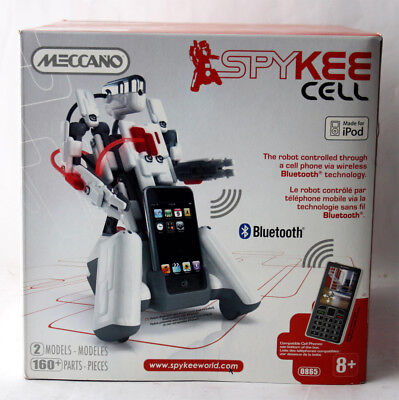 PARTS NEW SEALED ! RARE 2008 MECCANO SPYKEE CELL ROBOT FOR iPOD 160