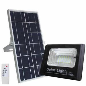 FARO-FARETTO-LED-10-A-300W-CON-PANNELLO-SOLARE-RICARICABILE-ENERGIA-CREPUSCOLARE