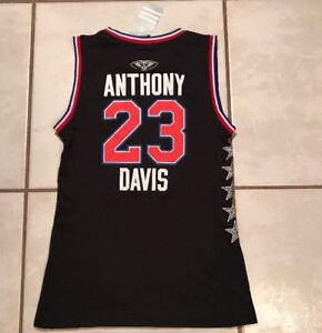 5efc8010e88 NWT ADIDAS Anthony Davis 2015 NBA ALL-STAR WEST Jersey Women s Small ...
