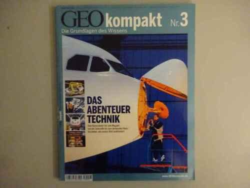1 von 1 - GEO kompakt 3 - Das Abenteuer Technik