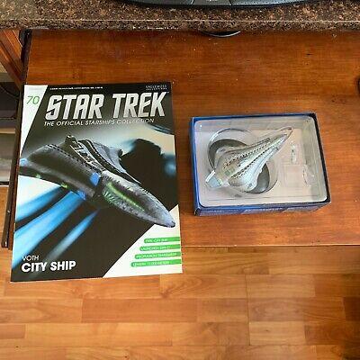 Star Trek Voth City Ship Model with Magazine #70 by Eaglemoss