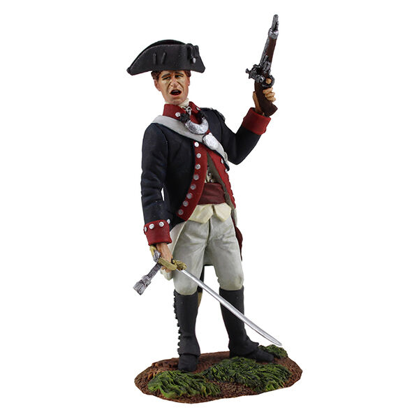BRITAINS SOLDIERS 16031 - Continental Line 1st American Regiment Officer No.1