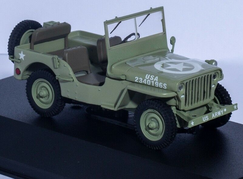 1 43 WILLYS JEEP MB MB MB U.S. ARMY UNITED STATES DIECAST Greenlight Car Model Limited c6a159