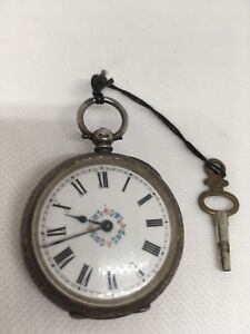 antique-Swiss-silver-pocket-watch-perfect-working-vintage