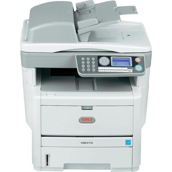 OKI MB470 MFP Multifunktionsgerät Kopierer Laserdrucker Scanner Drucker