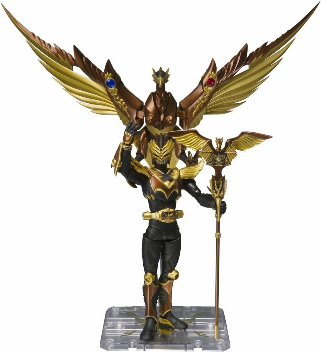 S.H.Figuarts Masked Masked Masked Kamen Rider Ryuki ODIN & gold PHOENIX Action Figure BANDAI 1bc5e3