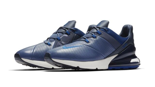 Men's Nike Air Max 270 Premium Running Shoes Diffused Blue Ao8283 400 Size 10