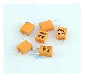10pcs 455E 455KHz 455K DIP-2 CERAMIC Crystal Oscillator