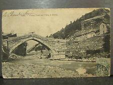 cpa 73 vieux pont sur l'arc a orelle
