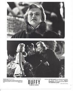 Buffy The Vampire Slayer 1982 Kristy Swanson Original Press Photo Rutger Hauer