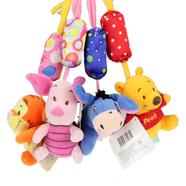 New Cute Kids Hanging Bed Toys Baby Bed Hanging Toy and Ring The Bell
