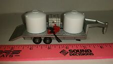 1/64 ERTL custom farm toy sprayer tender water trailer tank pump reel roundup
