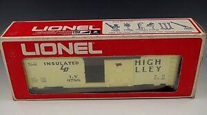 LIONEL-LEHIGH-VALLEY-BOX-CAR-6-9788-NIB-O-027-GAUGE