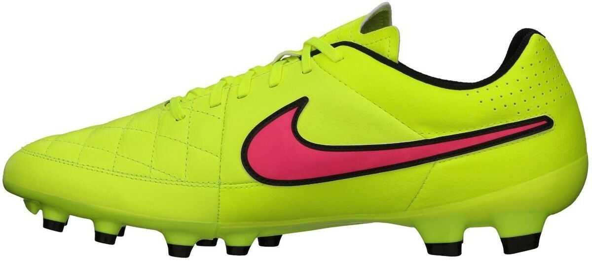 Wild casual shoes NIKE Tiempo Genio Leather Men's Soccer Cleats Style 631282-770