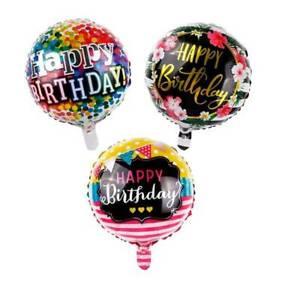 5PCS 18/'/' Happy Birthday Aluminum Foil Balloons Helium Air Wedding Party Decor v