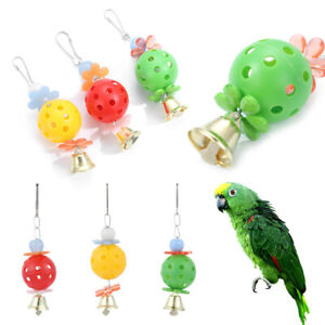 Animal-de-compagnie-Horloge-Jouet-de-perroquet-Chaine-de-caracteres-Suspension