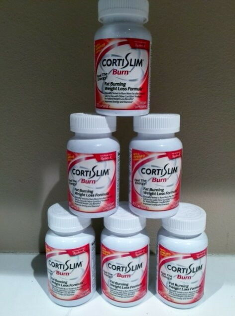 CortiSLIM Burn with with with Raspberry Ketones (Buy 6 Special Offer - Save 99.75) 2bee3f