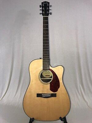 Musical Instruments & Gear Fender Cd-140sce Acoustic/electric Guitar Guitars & Basses Natural