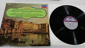 Albinoni-Vivaldi-Schostakowitsch-LP-Vinyl-VG-Spanisch-Ed-London
