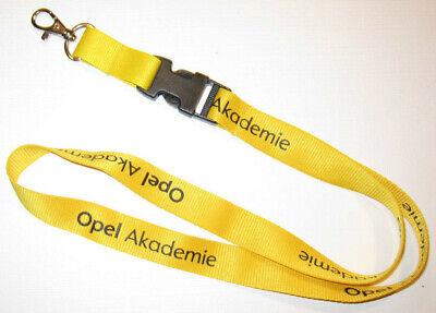 T80 Opel Akademie Schlüsselband Lanyard NEU