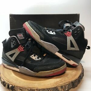 6e0475b8ee29 Nike Air Jordan Spizike Black Red Cement Military Blue 315371-062 Sz ...