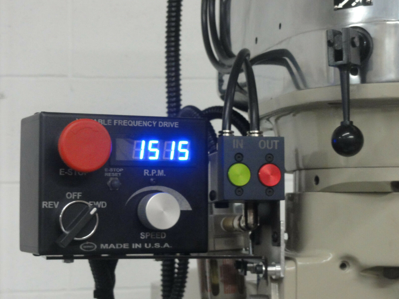 Groovy Servo Variable Frequency Drive Vfd 3 Hp 230V 1 Phase Bridgeport Mill Wiring Cloud Oideiuggs Outletorg