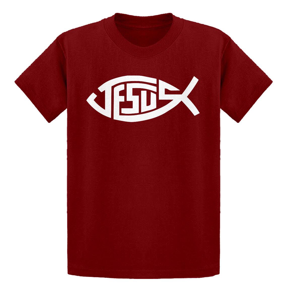Youth Jesus Fish Kids Hoodie #3062