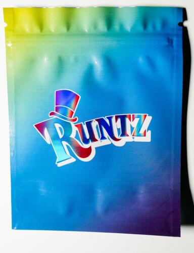 HALOGRAPHIC RUNTZ 3.5g Smell Proof Ziplock Bags