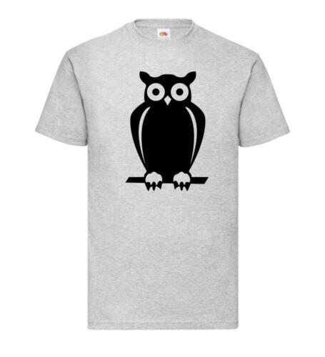 Pullover Hoodie Naturschutz Eule T-Shirt