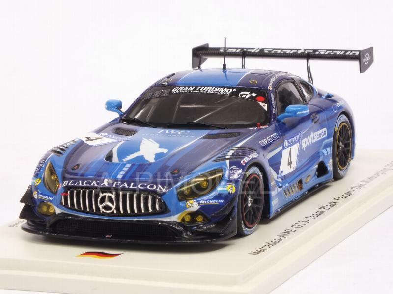 Mercedes AMG GT3 Nurburgring 2017 Haupt -Al Faisal - Stolz-J 1 43 SPARK SG316