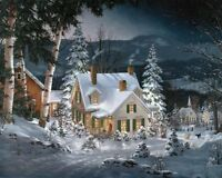 White Mountain Puzzles Friends In Winter - 1000 Piece Jigsaw Puzzle , New, Free on sale