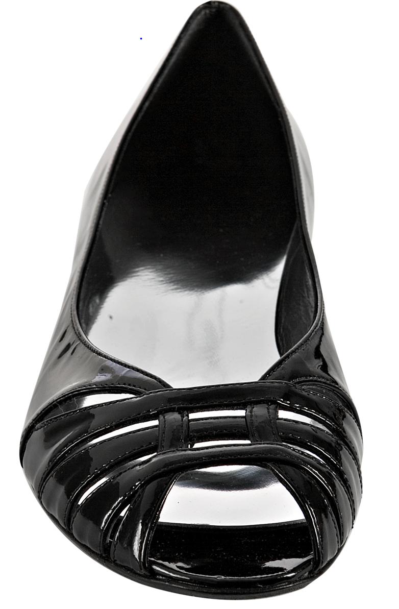 New Stuart Key' Weitzman 'Niedrig Key' Stuart Peep Toe Flat (US 6) 4061df