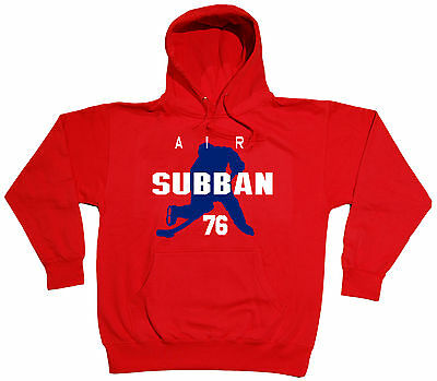 "Subban Nashville Predators /""Air Subban/"" jersey shirt Hooded SWEATSHIRT P K"