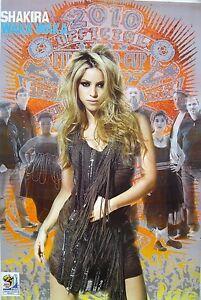 Shakira Waka Waka Cartel De Asia Copa Del Mundo Fifa 2010 Musica Pop Latino Ebay