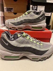 Details about Nike Air Max 95 Winter Utility Electric Green Grey Shoes  BQ5616-002 Men's 12